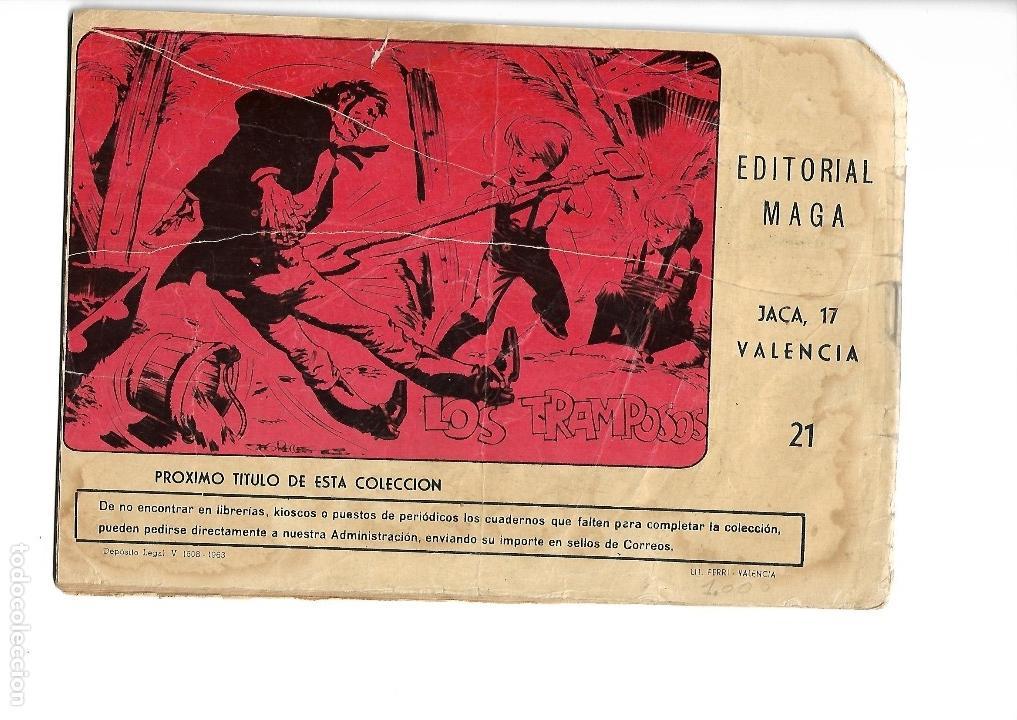 Tebeos: Los Imbatidos Año 1963 Lote de 23 Tebeos Originales Dibujos de Vicente Segrelles Editorial Maga. - Foto 35 - 128696987