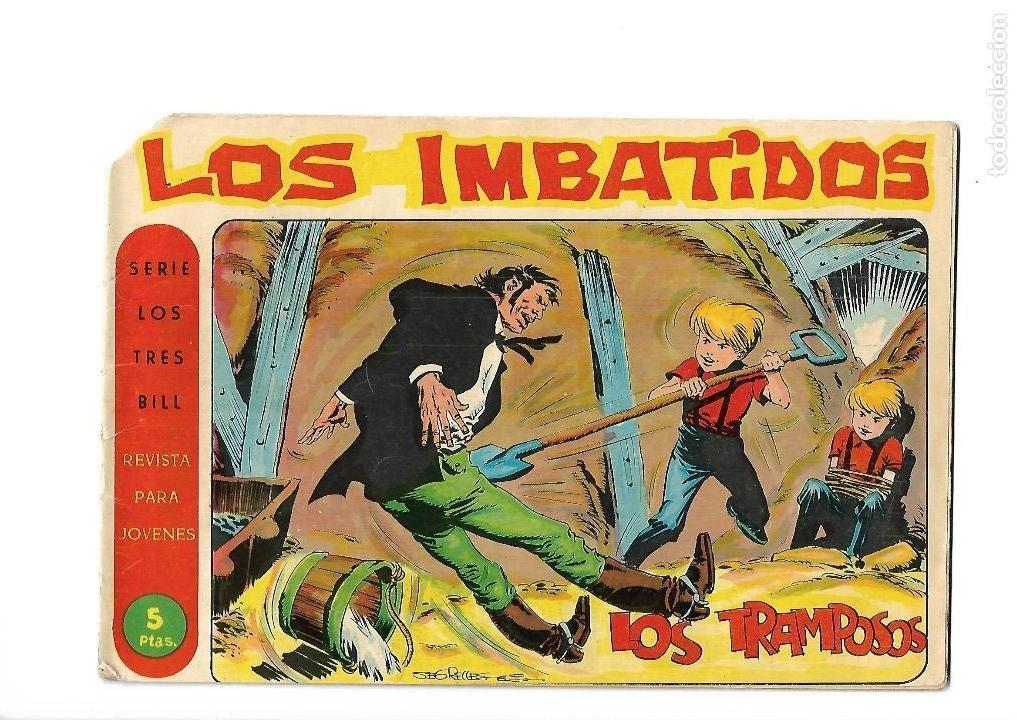 Tebeos: Los Imbatidos Año 1963 Lote de 23 Tebeos Originales Dibujos de Vicente Segrelles Editorial Maga. - Foto 36 - 128696987