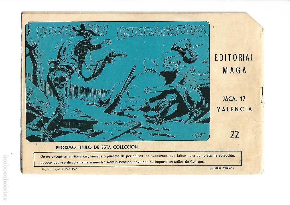 Tebeos: Los Imbatidos Año 1963 Lote de 23 Tebeos Originales Dibujos de Vicente Segrelles Editorial Maga. - Foto 37 - 128696987