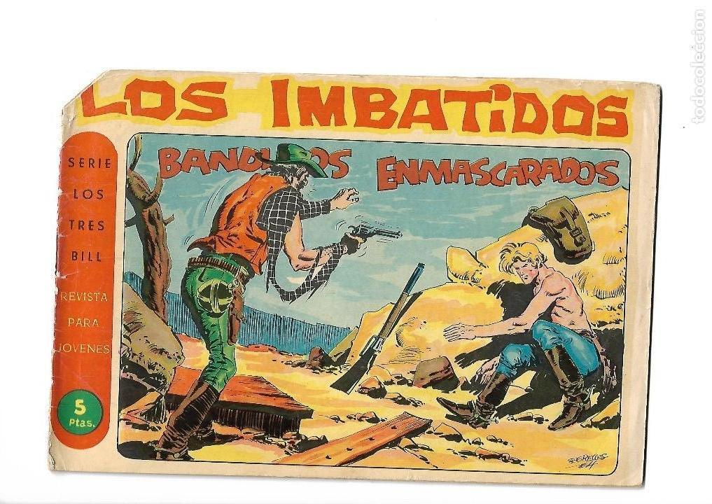 Tebeos: Los Imbatidos Año 1963 Lote de 23 Tebeos Originales Dibujos de Vicente Segrelles Editorial Maga. - Foto 38 - 128696987