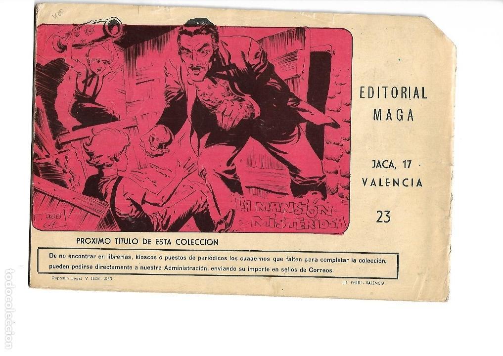 Tebeos: Los Imbatidos Año 1963 Lote de 23 Tebeos Originales Dibujos de Vicente Segrelles Editorial Maga. - Foto 39 - 128696987
