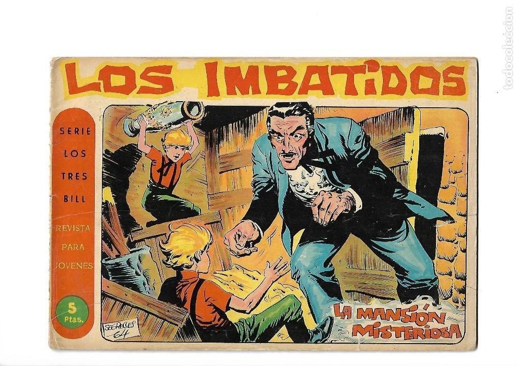 Tebeos: Los Imbatidos Año 1963 Lote de 23 Tebeos Originales Dibujos de Vicente Segrelles Editorial Maga. - Foto 40 - 128696987