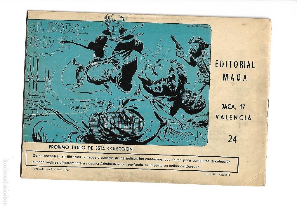 Tebeos: Los Imbatidos Año 1963 Lote de 23 Tebeos Originales Dibujos de Vicente Segrelles Editorial Maga. - Foto 41 - 128696987