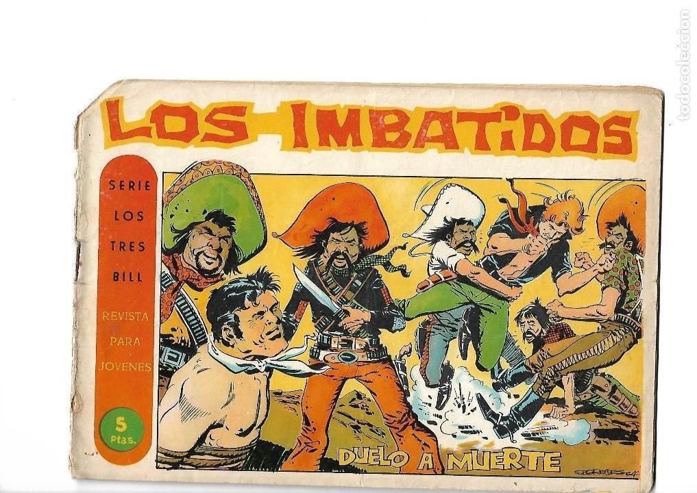 Tebeos: Los Imbatidos Año 1963 Lote de 23 Tebeos Originales Dibujos de Vicente Segrelles Editorial Maga. - Foto 42 - 128696987