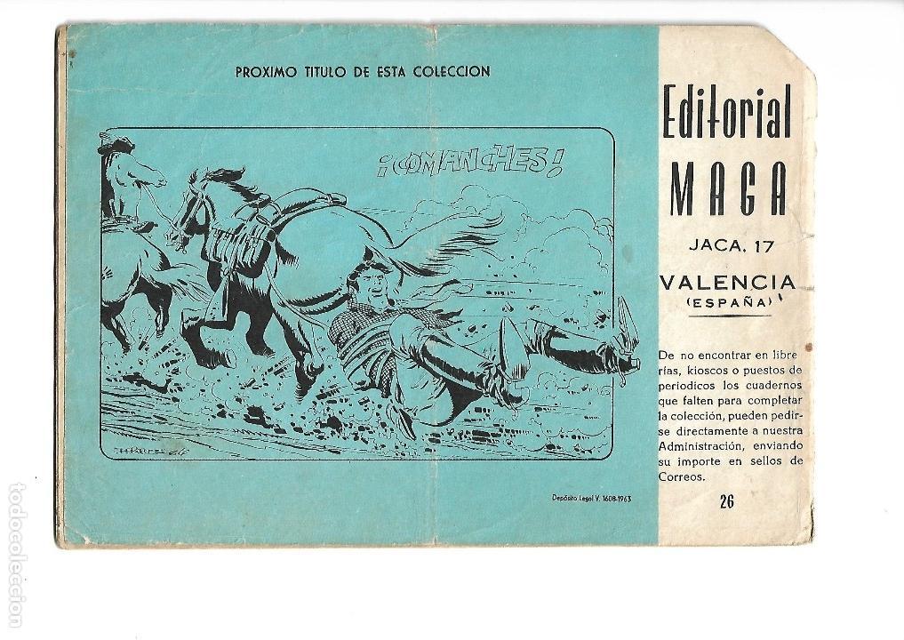 Tebeos: Los Imbatidos Año 1963 Lote de 23 Tebeos Originales Dibujos de Vicente Segrelles Editorial Maga. - Foto 43 - 128696987