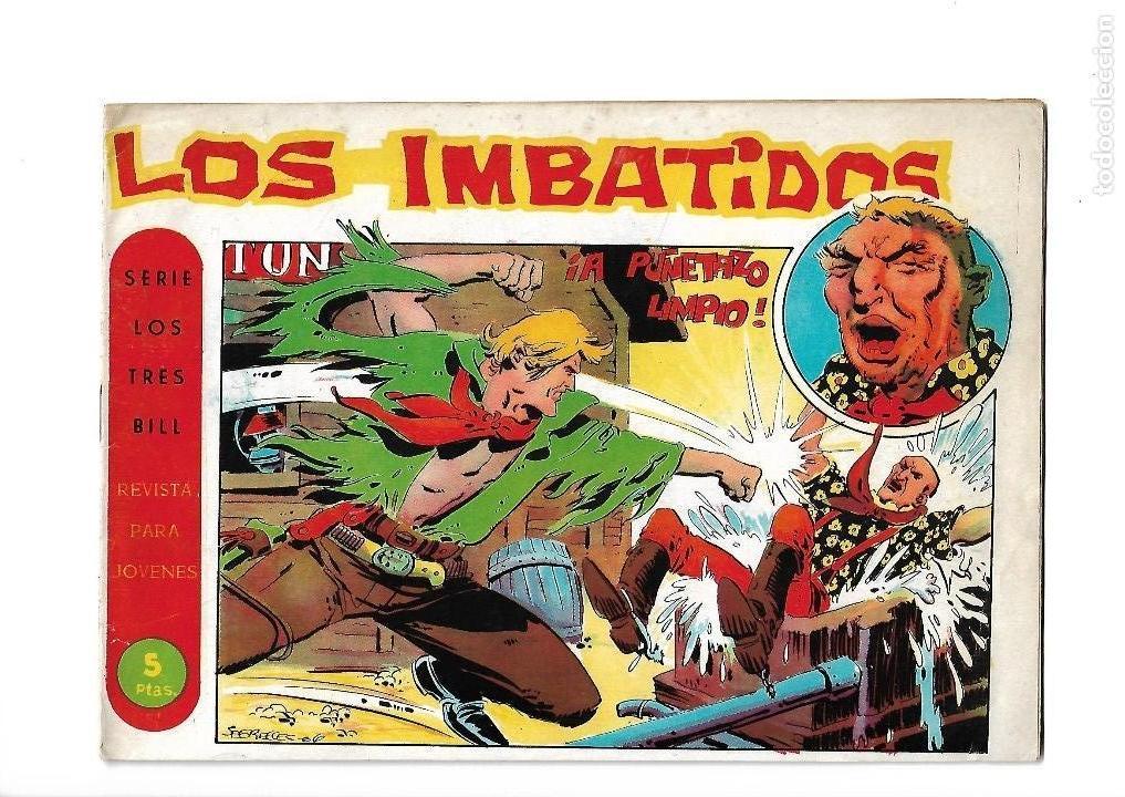 Tebeos: Los Imbatidos Año 1963 Lote de 23 Tebeos Originales Dibujos de Vicente Segrelles Editorial Maga. - Foto 44 - 128696987
