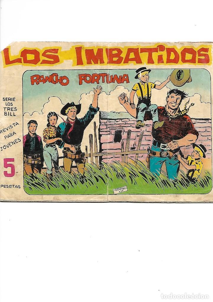 Tebeos: Los Imbatidos Año 1963 Lote de 23 Tebeos Originales Dibujos de Vicente Segrelles Editorial Maga. - Foto 2 - 128696987