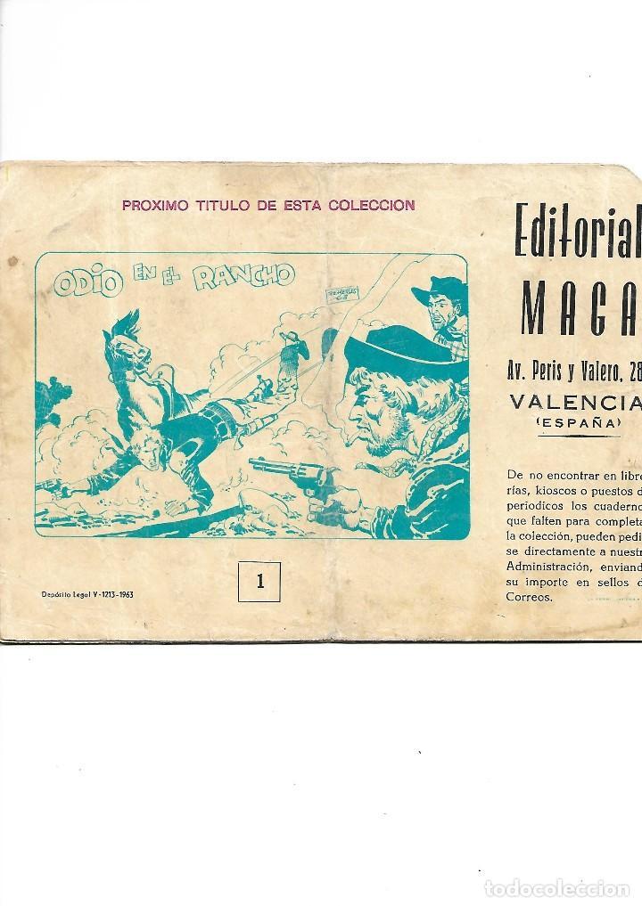 Tebeos: Los Imbatidos Año 1963 Lote de 23 Tebeos Originales Dibujos de Vicente Segrelles Editorial Maga. - Foto 3 - 128696987