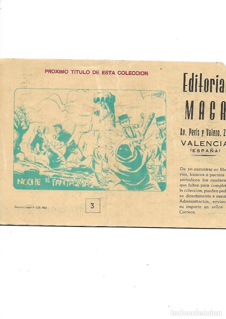 Tebeos: Los Imbatidos Año 1963 Lote de 23 Tebeos Originales Dibujos de Vicente Segrelles Editorial Maga. - Foto 5 - 128696987