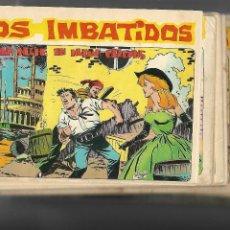 Tebeos: LOS IMBATIDOS AÑO 1963 LOTE DE 23 TEBEOS ORIGINALES DIBUJOS DE VICENTE SEGRELLES EDITORIAL MAGA.. Lote 128696987