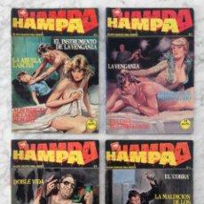 Tebeos: HAMPA - LOTE DE 4 CÓMICS - NºS 2-3-4-5 - ED. ZINCO - 1988. Lote 129504723