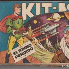 Tebeos: KIT-BOY 1ª. SORIANO 1956. COMPLETA 35 EJEMPLARES ESCASA.. Lote 129513955