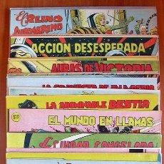 Tebeos: HAZAÑAS DE LA JUVENTUD AUDAZ - EDITORIAL VALENCIANA 1959 - COMPLETA, 44 TEBEOS SIN ABRIR. Lote 130156919
