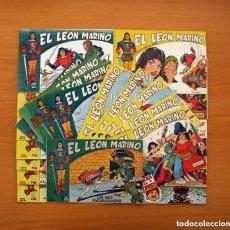 Tebeos: EL LEÓN MARINO - COLECCIÓN COMPLETA, 24 EJEMPLARES - EDITORIAL MAGA 1961. Lote 130308178