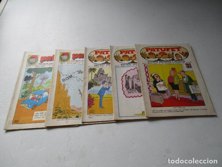 PATUFET, REVISTA INFANTIL I JUVENIL. NSº: 22, 24, 25, 26, 46- 2ª. ÈPOCA-1969/1975- 5 REVISTAS (Tebeos y Comics - Tebeos Pequeños Lotes de Conjunto)