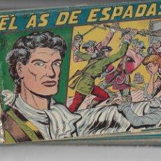 Tebeos: EL AS DE ESPADAS, AÑO 1954. COLECCIÓN COMPLETA SON 30. TEBEOS ORIGINALES DIBUJANTE MANUEL GAGO. Lote 130710969