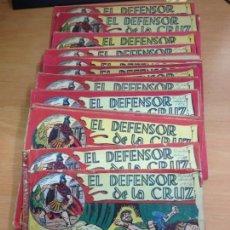 Tebeos: COLECCION COMPLETA ORIGINAL Y SUELTA EL DEFENSOR DE LA CRUZ 54 EJEMPLARES EDITORIAL MAGA. Lote 131183416