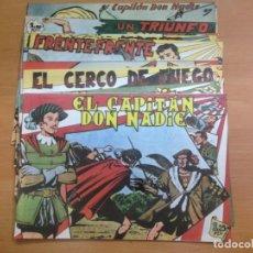Tebeos: COLECCION COMPLETA REEDICION EL CAPITAN DON NADIE CONTIENE 19 EJEMPLARES. Lote 131328450