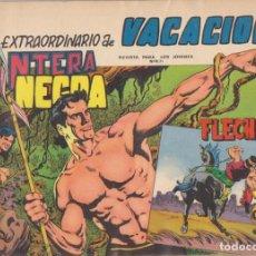 Tebeos: EXTRAORDINARIO DE VACACIONES (1965) PANTERA NEGRA Y FLECHA ROJA. Lote 131346370