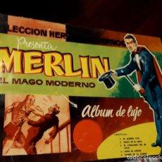 Tebeos: EL MAGO MERLIN COLECCION COMPLETA ENCUADERNADA COLECCION HEROES MODERNOS. Lote 131381938