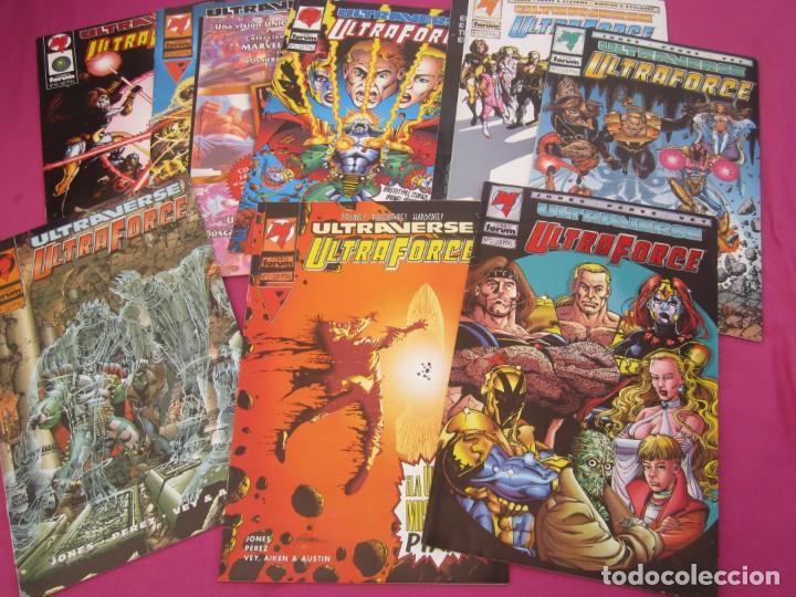 ULTRAVERSE ULTRAFORCE 11 COMPLETA FORUM (Tebeos y Comics - Tebeos Colecciones y Lotes Avanzados)