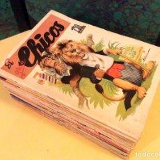 Tebeos: EL GRAN CHICOS (GILSA - 1945). COMPLETA Y MUY BONITA. Lote 131921938