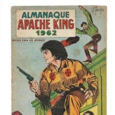 Tebeos: APACHE KING, AÑO 1.962. COLECCIÓN COMPLETA SON 28. TEBEOS ORIGINALES + ALMANAQUE AÑO 1.962. Lote 131970454