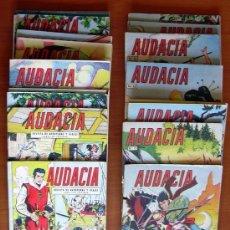 Tebeos: AUDACIA - EDITORIAL VALENCIANA 1962 - COLECCION COMPLETA - VER FOTOS INTERIORES. Lote 132006218