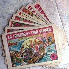 Tebeos: TONIN EL HUERFANITO (DE 1 PTA.) - EDITORIAL VALENCIANA 1949 - COMPLETA 8 TEBEOS SIN ABRIR. Lote 132013830