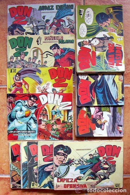 DON Z - EDITORIAL MAGA 1959 - COLECCIÓN COMPLETA, 90 TEBEOS (Tebeos y Comics - Tebeos Colecciones y Lotes Avanzados)