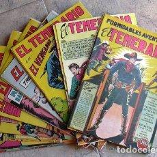 Tebeos: EL TEMERARIO - EDITORIAL VALENCIANA 1950 - COMPLETA 38 TEBEOS SIN ABRIR. Lote 132063546