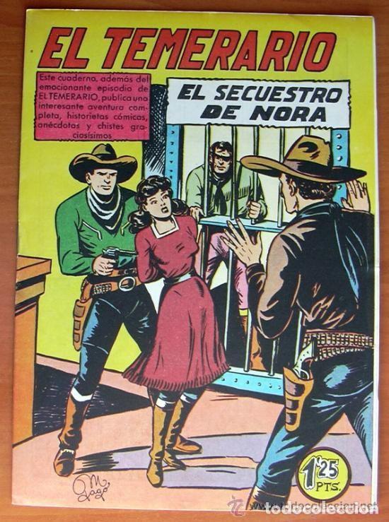 Tebeos: El temerario - Editorial Valenciana 1950 - Completa 38 tebeos SIN ABRIR - Foto 2 - 132063546