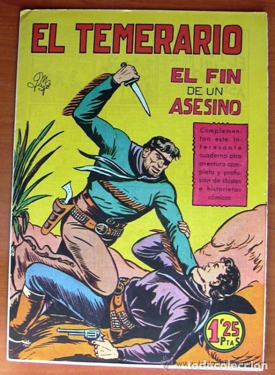 Tebeos: El temerario - Editorial Valenciana 1950 - Completa 38 tebeos SIN ABRIR - Foto 3 - 132063546
