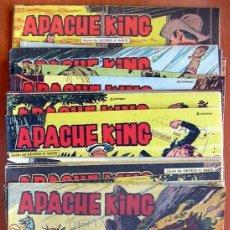 Tebeos: APACHE KING - EDITORIAL VALENCIANA 1962 - COMPLETA, 28 TEBEOS. Lote 132064718