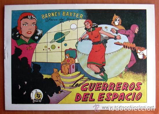 Tebeos: Barney Baxter - Editorial Valenciana 1950 - Completa 12 tebeos - Foto 2 - 132066306