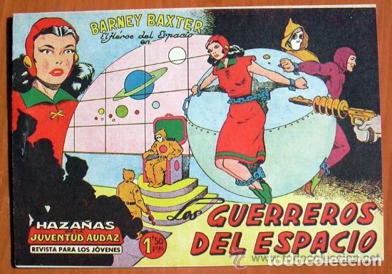 Tebeos: Barney Baxter - Editorial Valenciana 1960 - Colección Completa, 12 tebeos SIN ABRIR - Foto 2 - 132067122