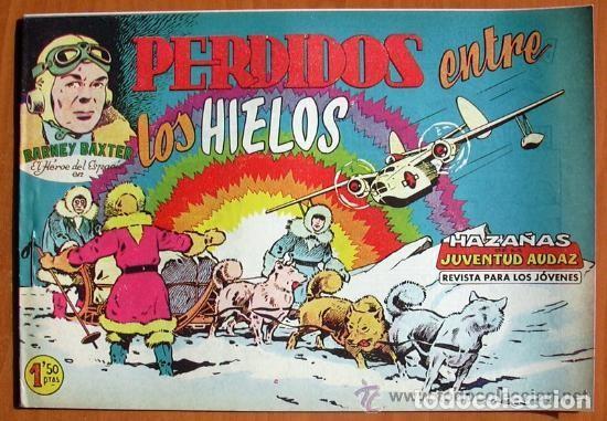 Tebeos: Barney Baxter - Editorial Valenciana 1960 - Colección Completa, 12 tebeos SIN ABRIR - Foto 3 - 132067122