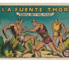 Tebeos: EL REY DEL MAR AÑO 1948 COLECCIÓN COMPLETA SON 46 TEBEOS ORIGINALES MUY NUEVOS DIBUJANTE L. BERMEJO. Lote 131699274