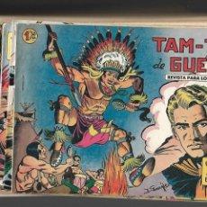 Tebeos: YUKI EL TEMERARIO AÑO 1958 COLECCIÓN COMPLETA 112 TEBEOS ORIGINALES NUEVOS DIBUJOS J. GONZÁLEZ. Lote 131704858