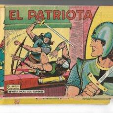 Tebeos: EL PATRIOTA, AÑO 1.961 COLECCIÓN COMPLETA SON 18. TEBEOS ORIGINALES SUPERNUEVOS DE M. GAGO.. Lote 131685806