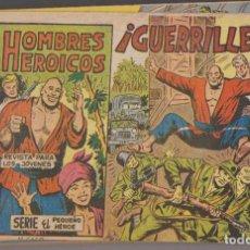 Tebeos: HOMBRES HEROICOS. MAGA 1961. COLECCIÓN A FALTA DEL 30.CONSERVACIÓN: HAY 3 EJEMPLARES NORMAL, UNO DE. Lote 132298881