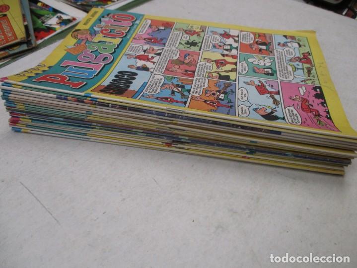 Tebeos: LOTE REVISTA JUVENIL PULGARCITO 19 EJEMPLARES DEL 2400 AL 2499 AMBOS INCLUIDOS - AÑOS 70 - BRUGUERA - Foto 2 - 132580294
