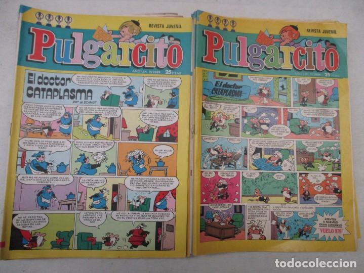 LOTE REVISTA JUVENIL PULGARCITO 24 EJEMPLARES DEL 2504 AL 2569 AMBOS INCLUIDOS - AÑOS 70 - BRUGUERA (Tebeos y Comics - Tebeos Pequeños Lotes de Conjunto)