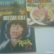Tebeos: METAL EXTRA Nº 1,2 Y 3 . Lote 132583882