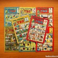 Tebeos: CUADERNOS EXTRAORDINARIOS DE EDICIONES TBO -EDITORIAL BUIGAS 1947 - COMPLETA, 8 CUADERNOS, VER FOTOS. Lote 132657910