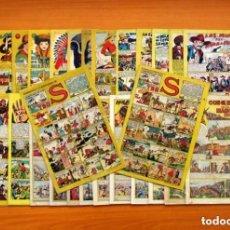 Tebeos: TBO S - COLECCIÓN COMPLETA - 28 EJEMPLARES - AÑO 1947 - VER FOTOS INTERIORES. Lote 132665586