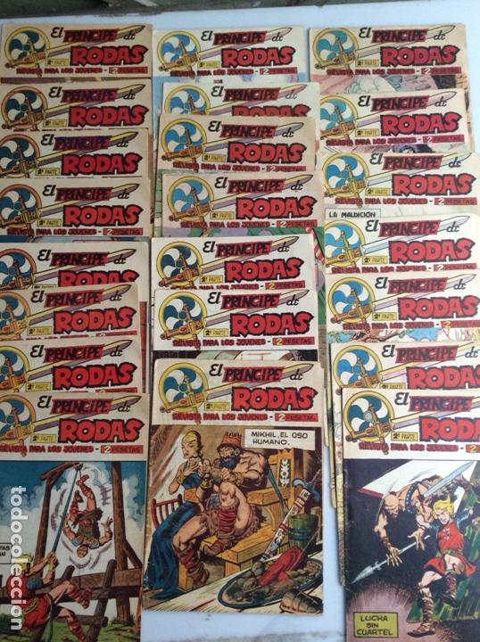 PRINCIPE DE RODAS 2ª SERIE / ESTEBAN MAROTO COMPLETA A FALTA Nº 44 Y 45 - ORIGINALES AÑO 1960 ( 54 ) (Tebeos y Comics - Tebeos Colecciones y Lotes Avanzados)