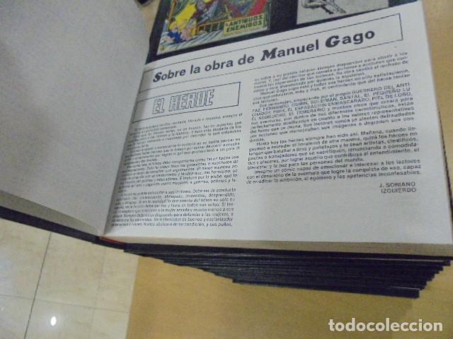 Tebeos: EL GUERRERO DEL ANTIFAZ COMPLETA ENCUADERNADA EN 20 TOMOS - Foto 4 - 132674942