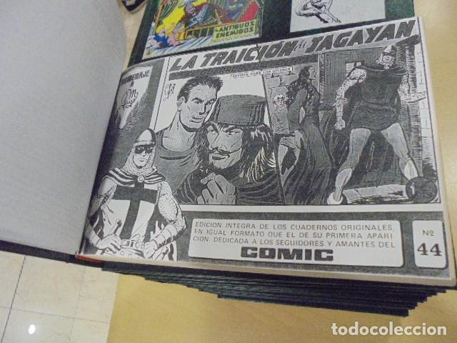 Tebeos: EL GUERRERO DEL ANTIFAZ COMPLETA ENCUADERNADA EN 20 TOMOS - Foto 5 - 132674942