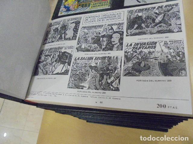 Tebeos: EL GUERRERO DEL ANTIFAZ COMPLETA ENCUADERNADA EN 20 TOMOS - Foto 6 - 132674942